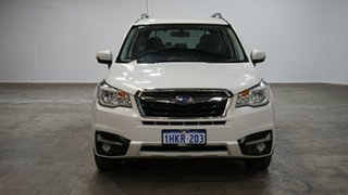 2017 Subaru Forester S4 MY18 2.0D-L CVT AWD Crystal White Pearl 7 Speed Constant Variable Wagon