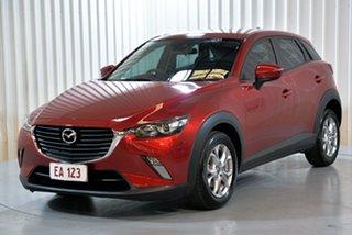2017 Mazda CX-3 DK2W7A Maxx SKYACTIV-Drive Red 6 Speed Sports Automatic Wagon.