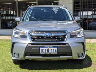 2017 Subaru Forester S4 MY18 XT CVT AWD Premium Silver 8 Speed Constant Variable Wagon.