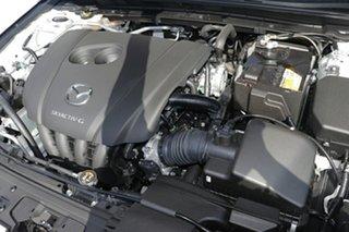 2021 Mazda 3 BP2HLA G25 SKYACTIV-Drive Evolve Snowflake White Pearl 6 Speed Sports Automatic