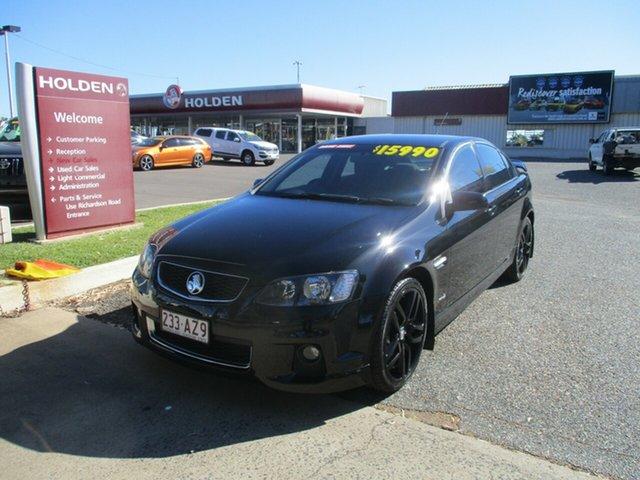 Used Holden Commodore VE II SV6 North Rockhampton, 2011 Holden Commodore VE II SV6 Black 6 Speed Sports Automatic Sedan