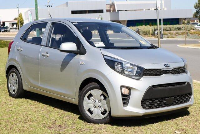 New Kia Picanto JA MY22 S Wangara, 2021 Kia Picanto JA MY22 S Sparkling Silver 4 Speed Automatic Hatchback