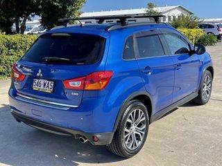 2015 Mitsubishi ASX XB MY15 XLS Blue 6 Speed Sports Automatic Wagon.