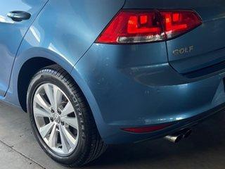 2015 Volkswagen Golf VII MY16 92TSI DSG Comfortline Blue 7 Speed Sports Automatic Dual Clutch