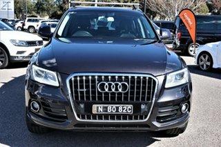 2012 Audi Q5 8R MY12 TDI S Tronic Quattro Grey 7 Speed Sports Automatic Dual Clutch Wagon.