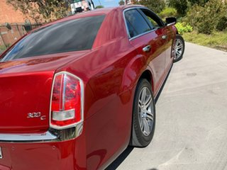 2012 Chrysler 300 LX MY12 C Red 5 Speed Sports Automatic Sedan.