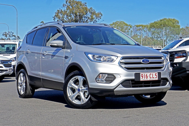 Used Ford Escape ZG 2019.75MY Trend Ebbw Vale, 2019 Ford Escape ZG 2019.75MY Trend Silver 6 Speed Sports Automatic SUV