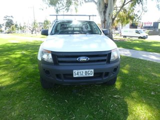 2014 Ford Ranger PX XL Plus White Sports Automatic Cab Chassis.