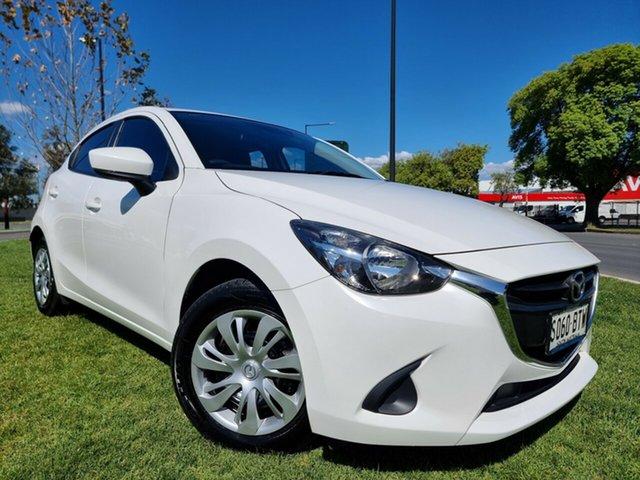 Used Mazda 2 DJ2HA6 Neo SKYACTIV-MT Hindmarsh, 2017 Mazda 2 DJ2HA6 Neo SKYACTIV-MT White 6 Speed Manual Hatchback
