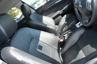 2012 Mitsubishi Lancer CJ MY12 VR-X Sportback Black 6 Speed Constant Variable Hatchback