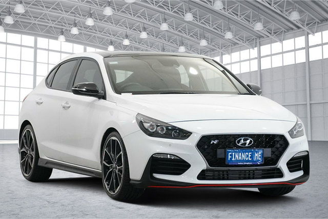 Used Hyundai i30 PDe.2 MY19 N Performance Victoria Park, 2019 Hyundai i30 PDe.2 MY19 N Performance White 6 Speed Manual Hatchback