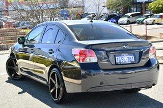 2012 Subaru Impreza G4 MY12 2.0i AWD Dark Grey 6 Speed Manual Sedan.