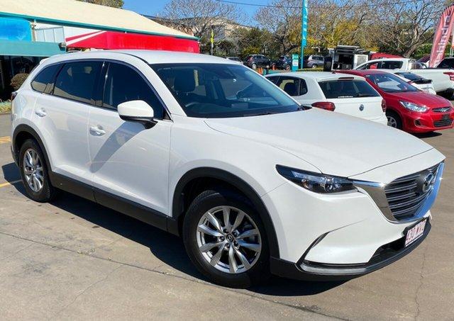 Used Mazda CX-9 MY16 Touring (FWD) Toowoomba, 2016 Mazda CX-9 MY16 Touring (FWD) White 6 Speed Automatic Wagon