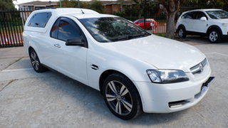 2009 Holden Ute VE MY09.5 Omega White 4 Speed Automatic Utility.