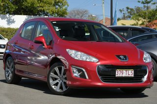 2012 Peugeot 308 T7 MY12 Active Red 6 Speed Sports Automatic Hatchback.