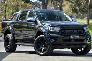2021 Ford Ranger PX MkIII 2021.25MY XLT Black 10 Speed Sports Automatic Double Cab Pick Up.