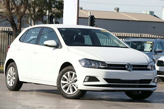 New Volkswagen Polo AW MY21 85TSI DSG Comfortline Liverpool, 2021 Volkswagen Polo AW MY21 85TSI DSG Comfortline Pure White 7 Speed Sports Automatic Dual Clutch