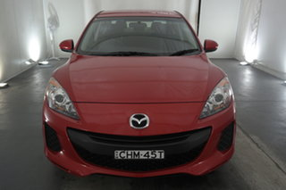 2012 Mazda 3 BL10F2 Neo Activematic Soul Red 5 Speed Sports Automatic Sedan.