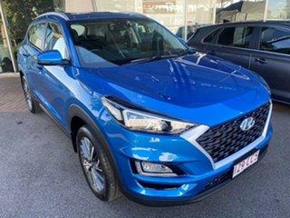 2020 Hyundai Tucson TL4 MY21 Active X 2WD Ara Blue 6 Speed Automatic Wagon.