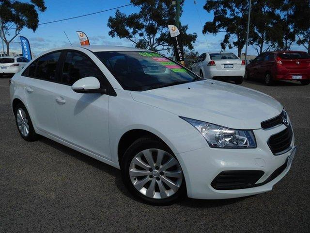 Used Holden Cruze JH Series II MY16 Equipe Wangara, 2016 Holden Cruze JH Series II MY16 Equipe White 6 Speed Sports Automatic Sedan