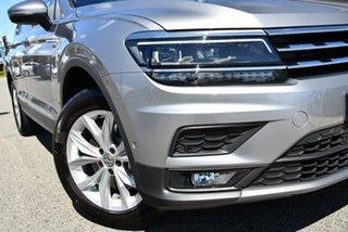 2020 Volkswagen Tiguan 5N MY20 132TSI Comfortline DSG 4MOTION Allspace Silver 7 Speed.
