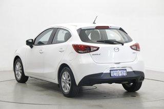 2014 Mazda 2 DJ2HAA Maxx SKYACTIV-Drive White 6 Speed Sports Automatic Hatchback.