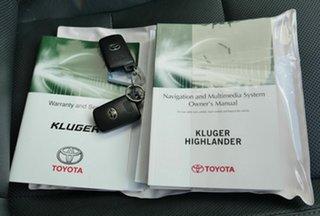 2014 Toyota Kluger GSU50R GXL 2WD White 6 Speed Sports Automatic Wagon