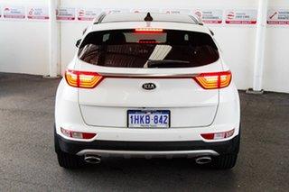 2016 Kia Sportage QL MY17 GT-Line (AWD) White 6 Speed Automatic Wagon