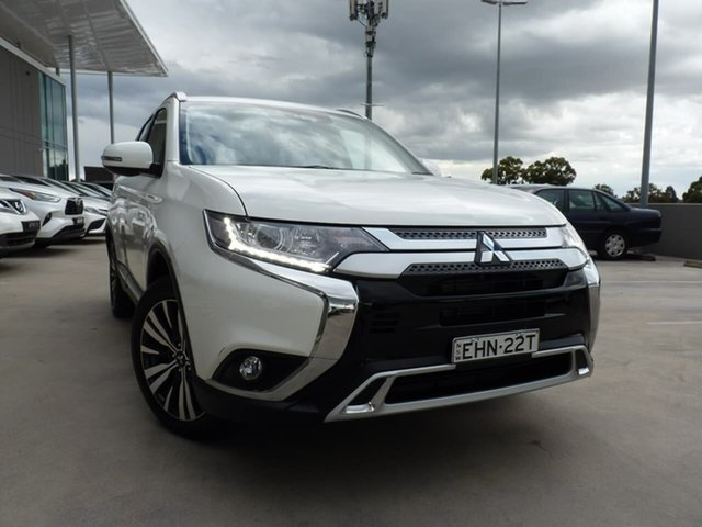 Pre-Owned Mitsubishi Outlander ZL MY20 LS 2WD Blacktown, 2020 Mitsubishi Outlander ZL MY20 LS 2WD White 6 Speed Constant Variable Wagon