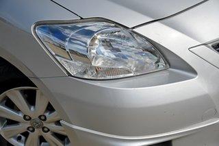 2010 Toyota Yaris NCP93R MY10 YRX Silver 4 Speed Automatic Sedan.