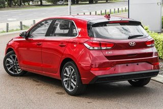 2021 Hyundai i30 PD.V4 MY21 Active Red 6 Speed Sports Automatic Hatchback