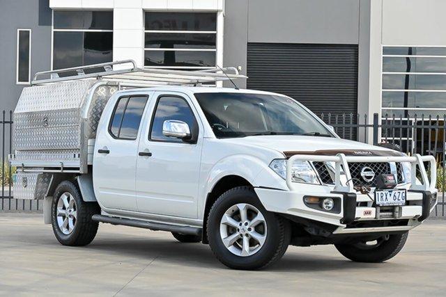 Used Nissan Navara D40 S5 MY12 ST-X 550 Pakenham, 2012 Nissan Navara D40 S5 MY12 ST-X 550 White 7 Speed Sports Automatic Utility