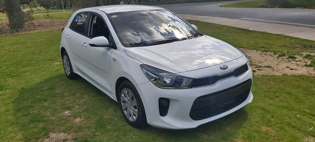 Used Kia Rio YB MY17 S Wodonga, 2017 Kia Rio YB MY17 S White 4 Speed Sports Automatic Hatchback