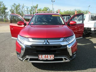 2020 Mitsubishi Outlander Red 6 Speed Automatic Wagon.