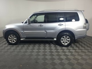 2010 Mitsubishi Pajero NT MY10 Exceed Cool Silver 5 Speed Sports Automatic Wagon