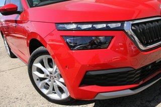 2021 Skoda Kamiq NW MY21 110TSI DSG FWD Limited Edition Red 7 Speed Sports Automatic Dual Clutch.