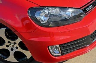 2012 Volkswagen Golf VI MY13 GTI DSG Red 6 Speed Sports Automatic Dual Clutch Hatchback.