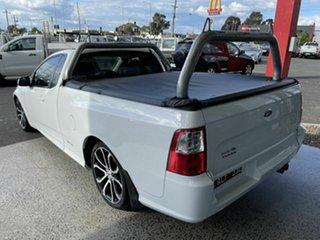 2014 Ford Falcon FG MK2 XR6T White 6 Speed Auto Seq Sportshift Utility
