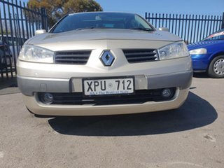 2007 Renault Megane II E84 Phase II Dynamique Silver 6 Speed Manual Cabriolet.