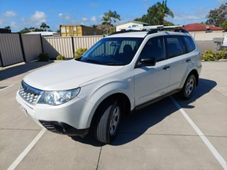 2012 Subaru Forester S4 MY13 2.5i Lineartronic AWD White 6 Speed Constant Variable Wagon