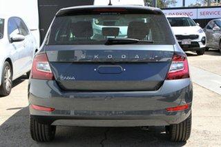 2021 Skoda Fabia NJ MY21 81TSI DSG Run-Out Edition Metal Grey/Black Roof 7 Speed