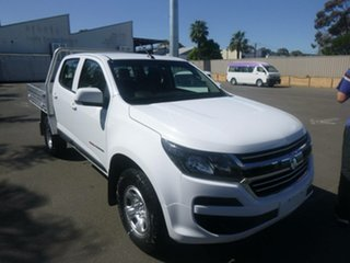 2018 Holden Colorado RG MY19 LT Pickup Crew Cab White 6 Speed Sports Automatic Utility.
