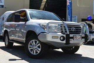2009 Toyota Landcruiser VDJ200R Sahara (4x4) Silver 6 Speed Automatic Wagon