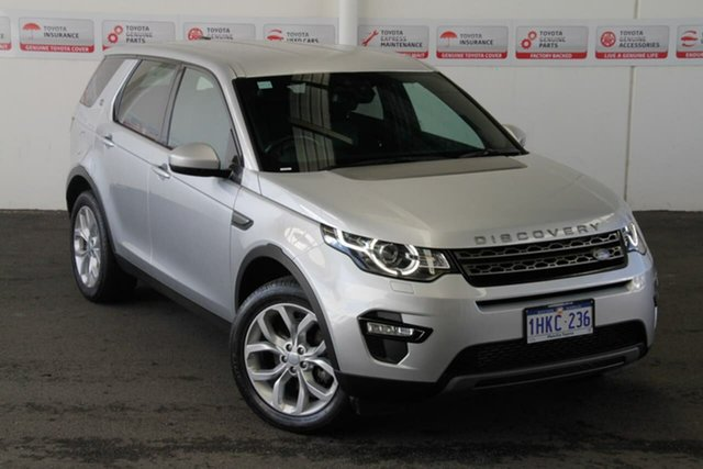 Pre-Owned Land Rover Discovery Sport LC MY16 SE Myaree, 2016 Land Rover Discovery Sport LC MY16 SE Silver 9 Speed Automatic Wagon