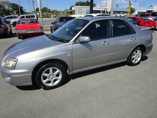 2005 Subaru Impreza S MY05 GX AWD Silver 5 Speed Manual Sedan.