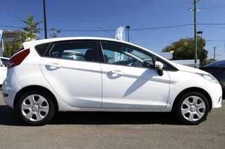 2011 Ford Fiesta WT CL PwrShift White 6 Speed Sports Automatic Dual Clutch Hatchback.