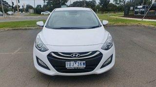 2014 Hyundai i30 GD2 MY14 SE Creamy White 6 Speed Sports Automatic Hatchback.