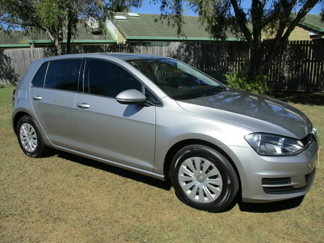 Used Volkswagen Golf VII MY16 92TSI DSG Comfortline Kippa-Ring, 2016 Volkswagen Golf VII MY16 92TSI DSG Comfortline Silver 7 Speed Sports Automatic Dual Clutch