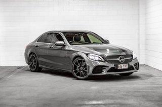 2018 Mercedes-Benz C-Class W205 809MY C200 9G-Tronic Grey 9 Speed Sports Automatic Sedan.