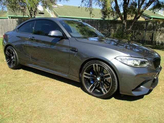 Used BMW M2 F87 D-CT Kippa-Ring, 2017 BMW M2 F87 D-CT Grey 7 Speed Sports Automatic Dual Clutch Coupe